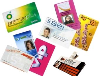 Tarjetas PVC para credenciales