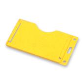 Porta credenciales amarillo
