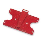 Porta credencial rojo